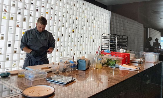 Il taste wall del test kitchen
