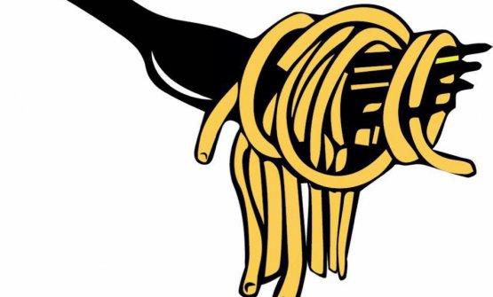 Il logo della trattoria L'Avvolgibile, nuova creatura di Adriano Baldassarre a Roma