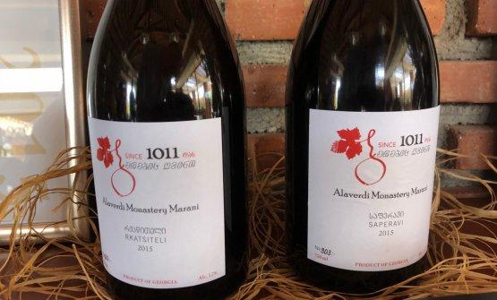 Il vino del monastero diAlaverdi