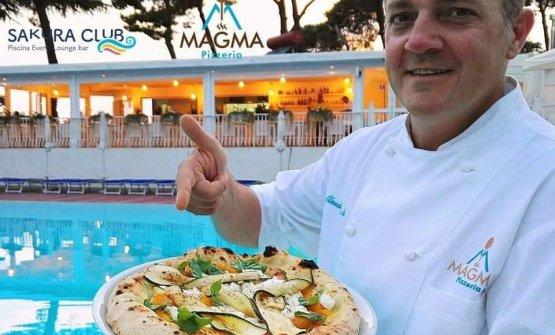 Claudio De Siena, Pizzeria Magma, Torre del Greco (Napoli)