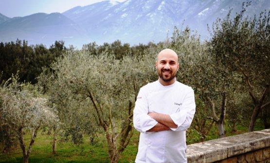 Lo chef Luciano Villani