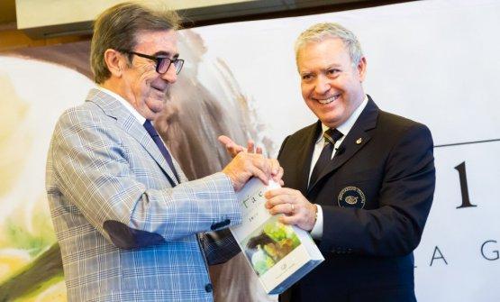 Maietta con Riccardo Cotarella