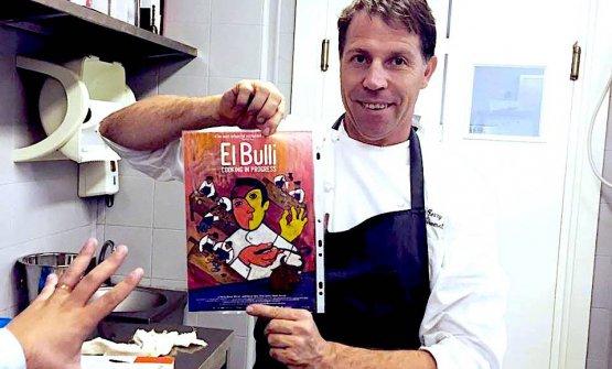 Lo chef Terry Giacomello, dal settembre 2015 all&#