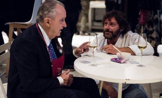 Aimo Moroni e Cesare Battisti