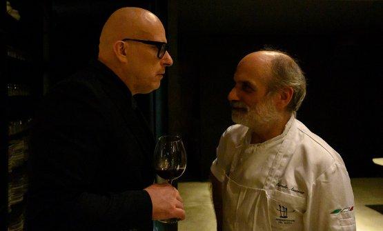 Paolo Brunelli e Corrado Assenza
