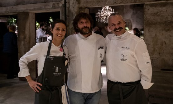 Marta Scalabrini, Cesare Battisti,Pascal Barbato