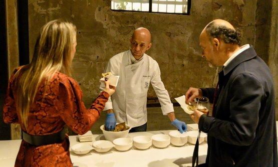 Riccardo Camanini con Moreno Cedroni