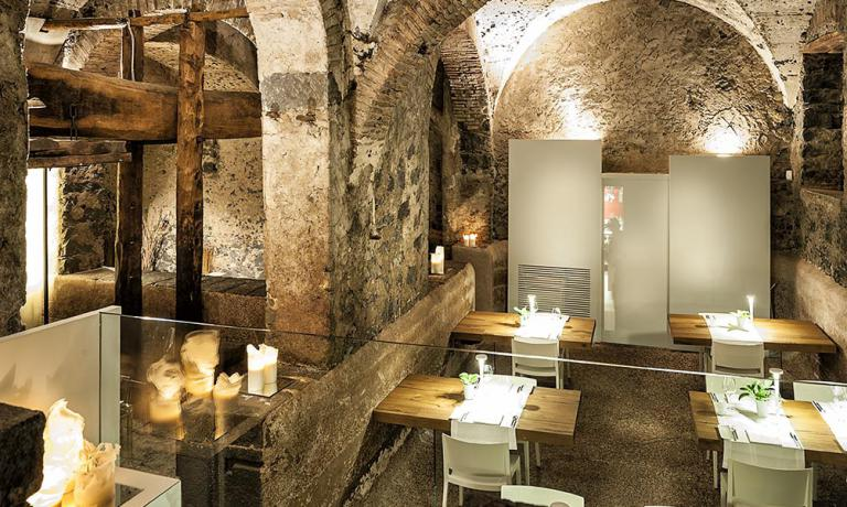 L'immaginifica sala del ristorante