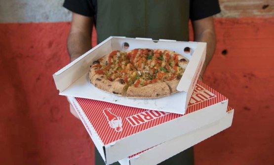 Delivery pizza al Berberè