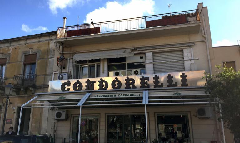 La pasticceria Condorelli a Belsito