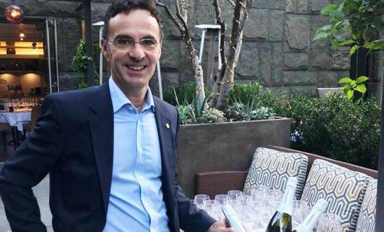 Giovanni Pinna è presidente del consorzio Vermentinodi Sardegna ed enologo di Sella&Mosca