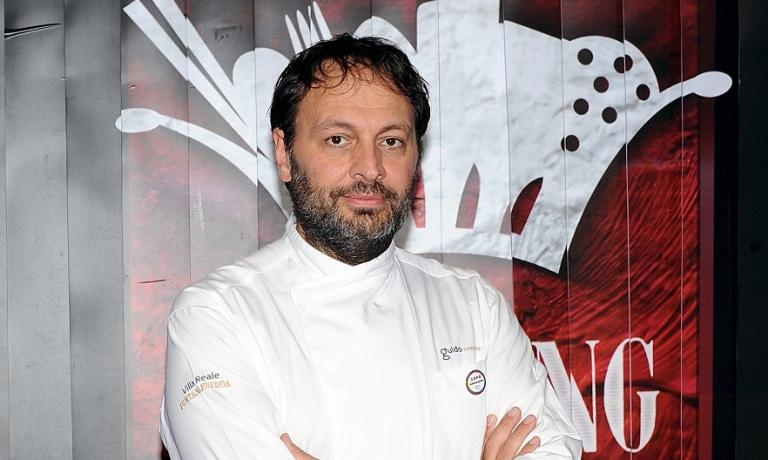 Ugo Alciati, the Piedmontese chef who offers a limited number of courses upon compulsory reservation