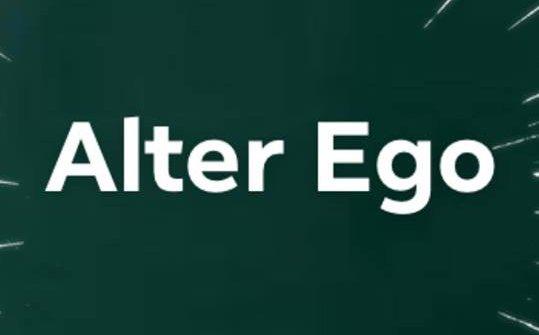 Il logo del nuovo Alter Ego di Tokuyoshi, a Tokyo