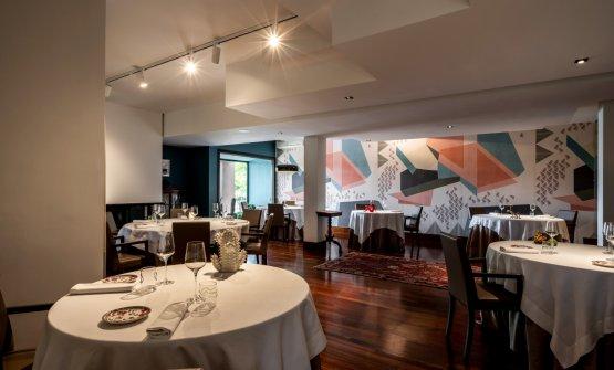 La sala del ristorante Gaudio