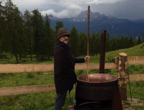 Massimo Bottura, druido di montagna
