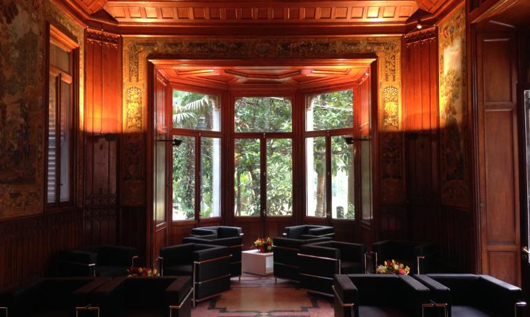 Una sala di Villa Figoli