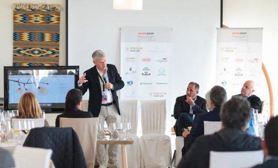 Luca Giavi, direttore di Prosecco Doc, ha portato la sua esperienza nella valorizzazione del territorio