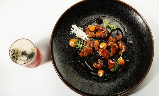Animelle al chinotto e carotaabbinate al drink Nerone