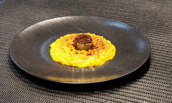 Il Risotto Milano/Roma di Davide Puleio, chef del ristorante Alchimia di viale Premuda 34, Milano