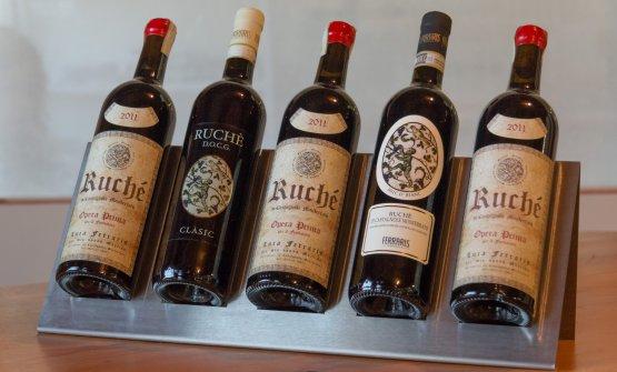 Le bottiglie di Ruché