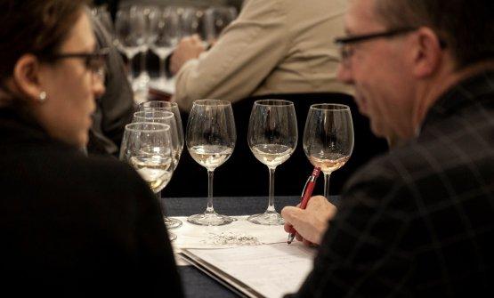 La degustazione dei vini