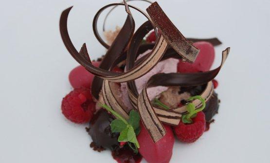 Dessert: Foresta destrutturata
