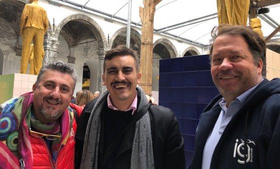 Pasquale Torrente, Giovanni Sorrentino, Christoph Bob