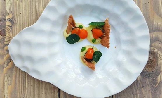 LUMACHE GOURMET. Un piatto diDavide Merlino, detto ancheAltramente Cuoco