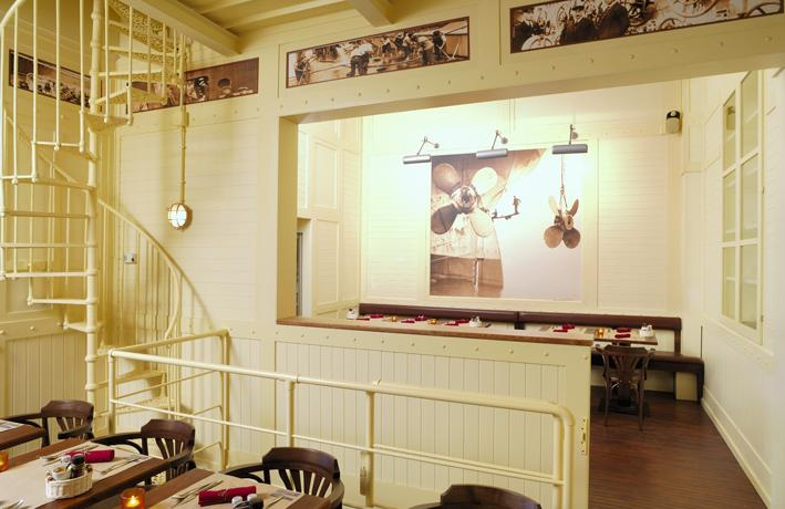 Le Vent du Nord's dining room
