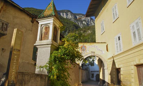 Tòr Löwengang a Magrè (Bolzano)