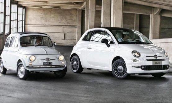 La Fiat 500 ieri e oggi