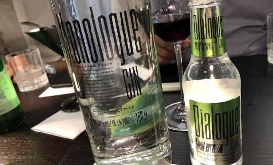Il Gin Monologue e l'acqua tonica pensate da Kavcic