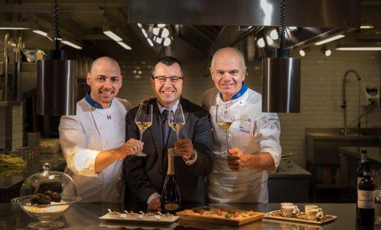 Paolo Morresi, Donato Marzolla, Enrico Derflingher