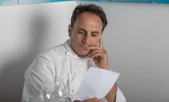 Nino Di Costanzo,chef di Danì Maison a Ischia,