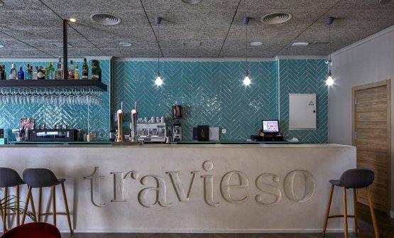 Il bancone bar alristoranteTravieso