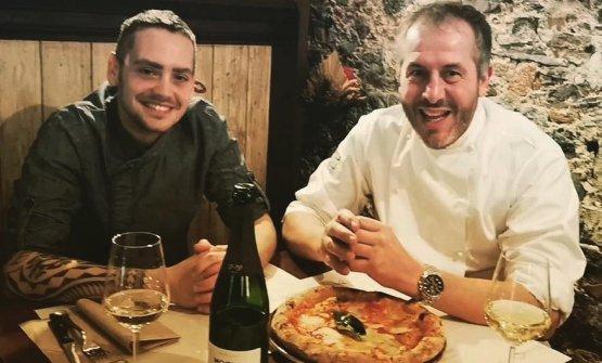 Da sinistra, Giuliano Moraca e Fabrizio Giovannini