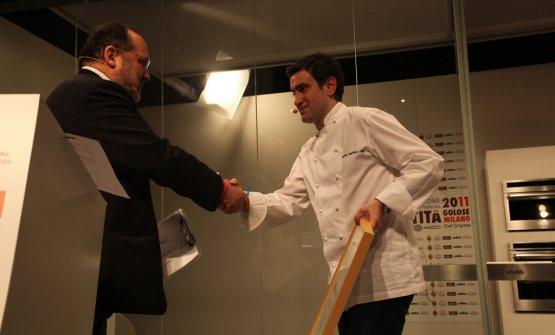 Paolo Marchi e Josean Alija a Identità Milano 2011