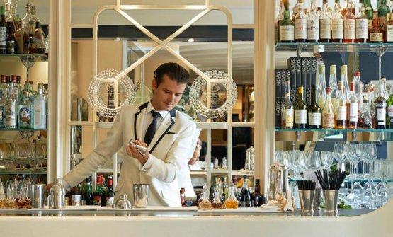 L'American Bar del Savoy a Londra, giunto secondo