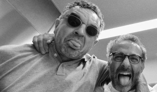 Uliassi con Massimo Bottura