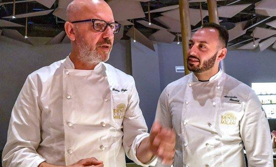 Franco Pepe e Alessandro Rinaldi (foto Giovanni Caldara)