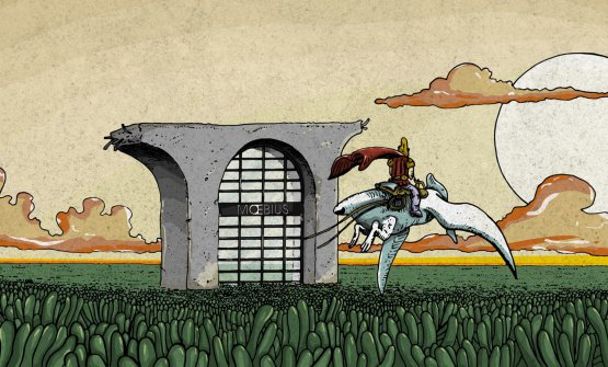 L'immagine che rappresenta il nuovo locale di Croatti sulla pagina Facebook di Moebius Milano