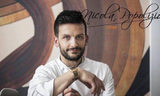 Lo chef Nicola Popolizio