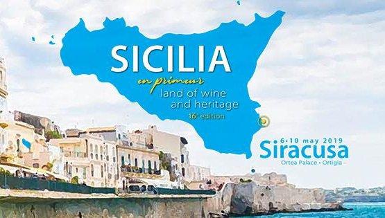 La locandina di Sicilia en Primeur 2019