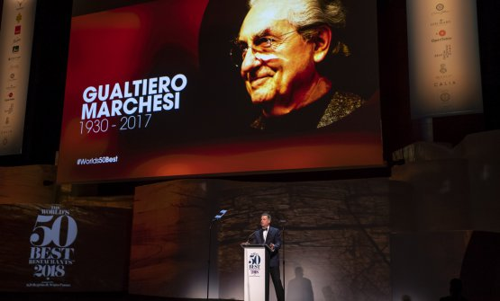 L'omaggio a Gualtiero Marchesi