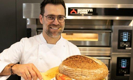 Renato Bosco, da San Martino Buon Albergo (Verona), è uno dei più apprezzati interpreti della pizza contemporanea
