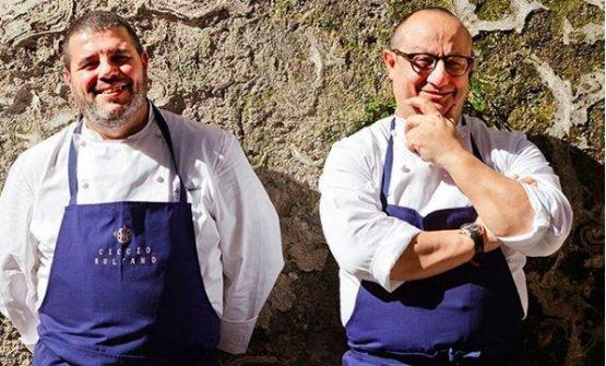 Sultano col braccio destro Marco Corallo (fotodiBenedetto Tarantino)