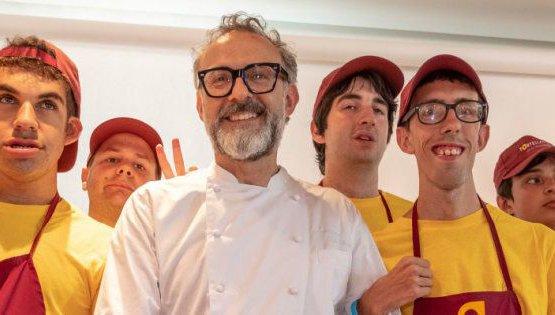 Coi ragazzi delTortellante, associazione premiata proprio ieri da Food & Wine Italia come progetto di importante rilevanza sociale