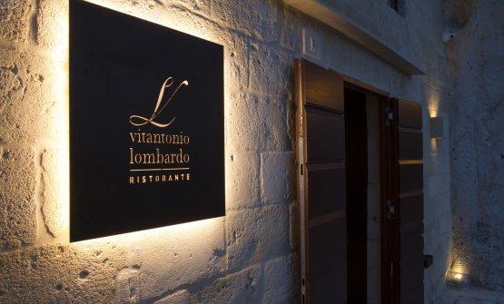 Il ristorante di Vitantonio Lombardo a Matera è u