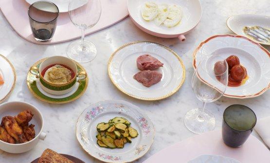 Menu in condivisione alloSpazio Niko Romito Bar e Cucina