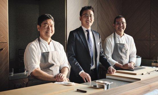 SUSHI BANCO. Liu tra Suzuki e Yamashita, secondo sushi master